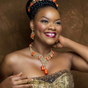 Kehinde Bankole dazzles in Gbenga Artsmith's 2017 Jewelry Campaign