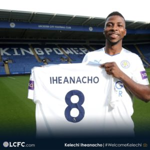 Iheanacho Officially becomes Nigeria's Most Expensive Player (Full List of Top 21)