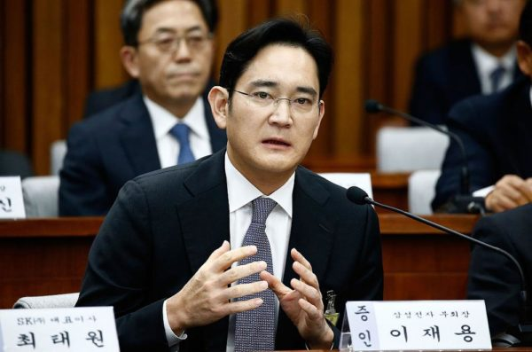 Samsung Heir Lee Jae-yong sentenced to 5 Years in Jail