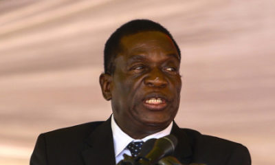 Zimbabwe's Vice President Mnangagwa hospitalised in South Africa
