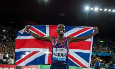 Diamond League : Ujah defeats world champion Gatlin while Mo Farah bows out with victory in Final track race
