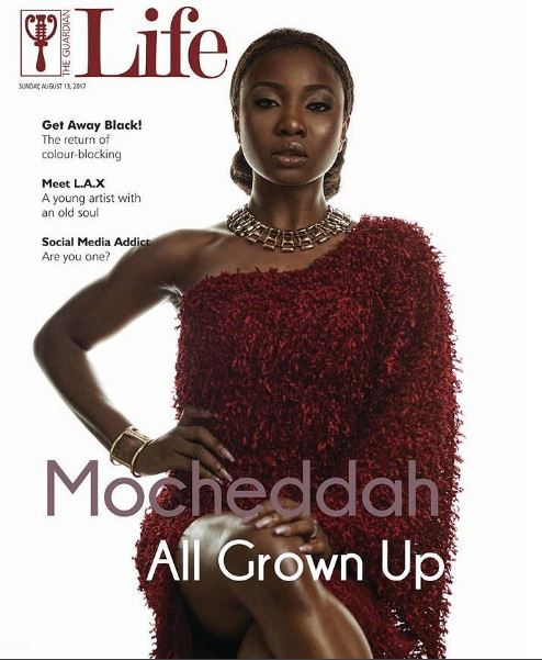 All Grown Up! Mocheddah is the cover star for Guardian Life Magazine's latest Issue