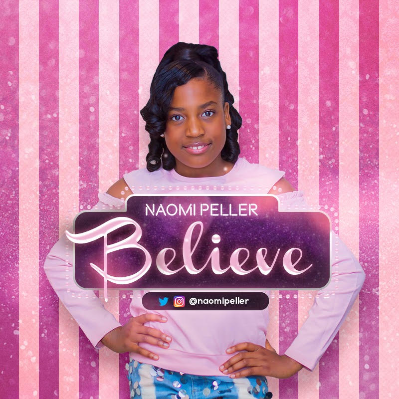 "BellaNaija - Shina Peller's daughter Naomi makes Music Debut with New Single & Video ""Believe"""