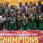 AfroBasket Championship: Unbeaten Nigeria wins third FIBA Women's AfroBasket title