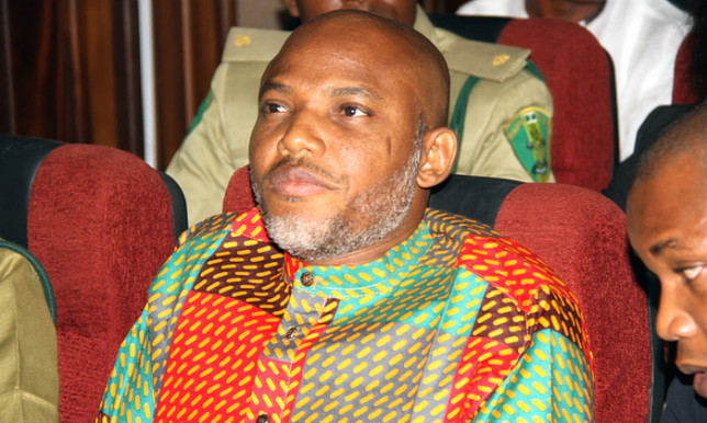 Tell Buhari that anyone who comes to arrest me will die - Nnamdi Kanu - BellaNaija