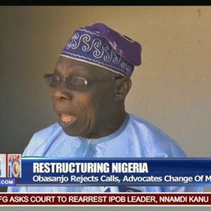 Obasanjo rejects Restructuring, says Inclusion is what Matters