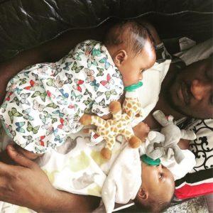 BN Living Sweet Spot: Paul Okoye dozes off on Daddy Duty