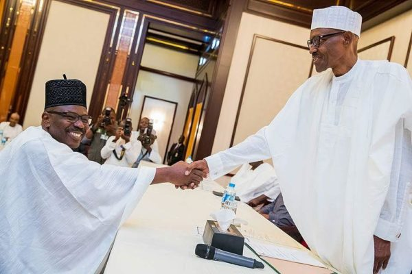 """Opposition does not mean hostility, enmity or antagonism"" - Buhari meets APC & PDP leaders - BellaNaija"