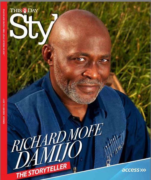 The Storyteller! Richard Mofe-Damijo covers ThisDay Style Magazine
