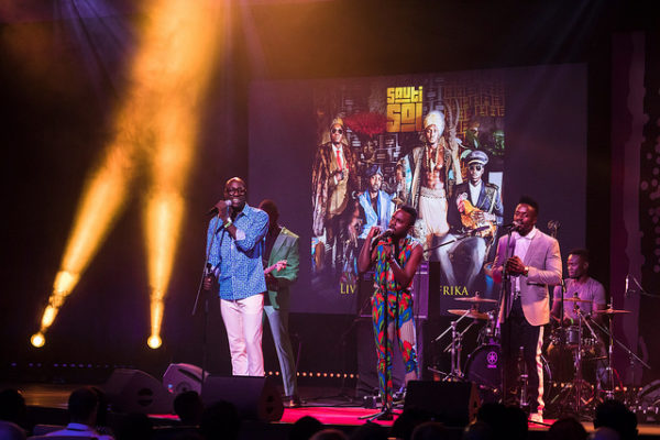 "WATCH Sauti Sol Perform ""Live and Die in Africa,"" ""Sura Yako,"" & ""Kuliko Jana.""at TEDGlobal Conference"