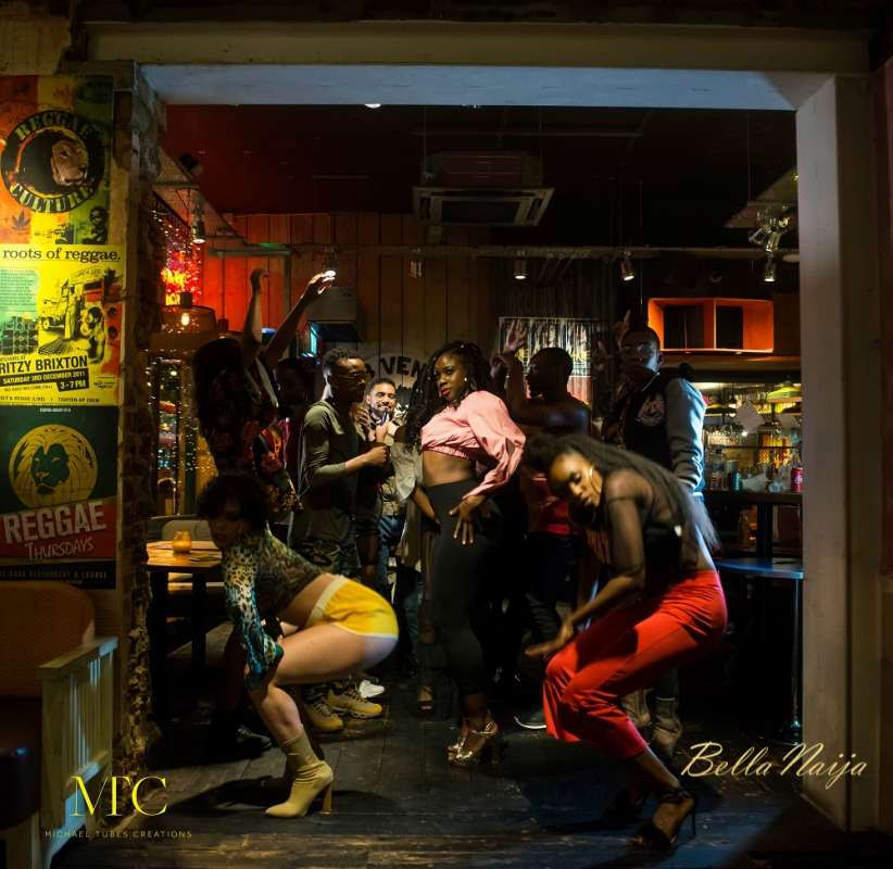 "BellaNaija - Squeeze Tarela releases B.T.S. Photos for Video Shoot of ""Hottest Thing"""