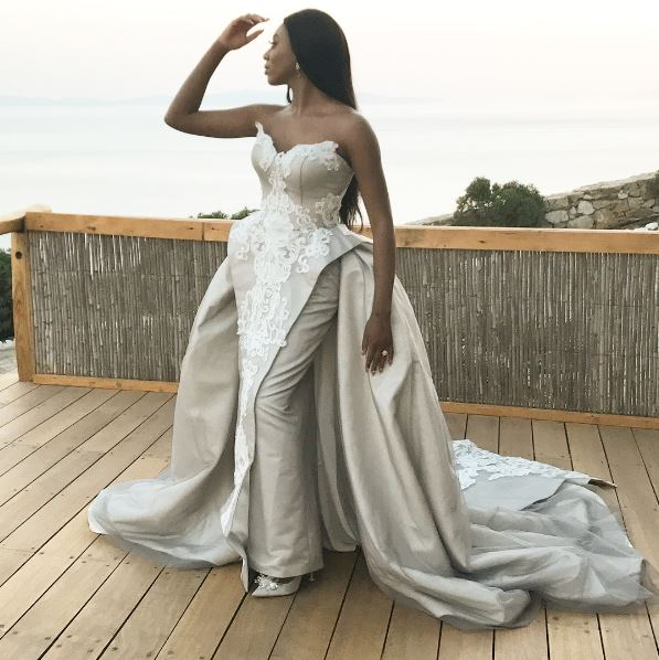 Somykonos17 Check Out Stephanie Er Aderinokun S Second Wedding Dress