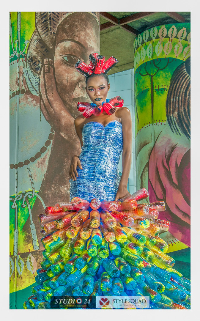 Studio 24 and Style Squad present Fashion Editorial using Water Bottles and Sachets (6)