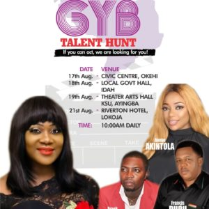Mercy Johnson-Okojie GYB Talent Hunt