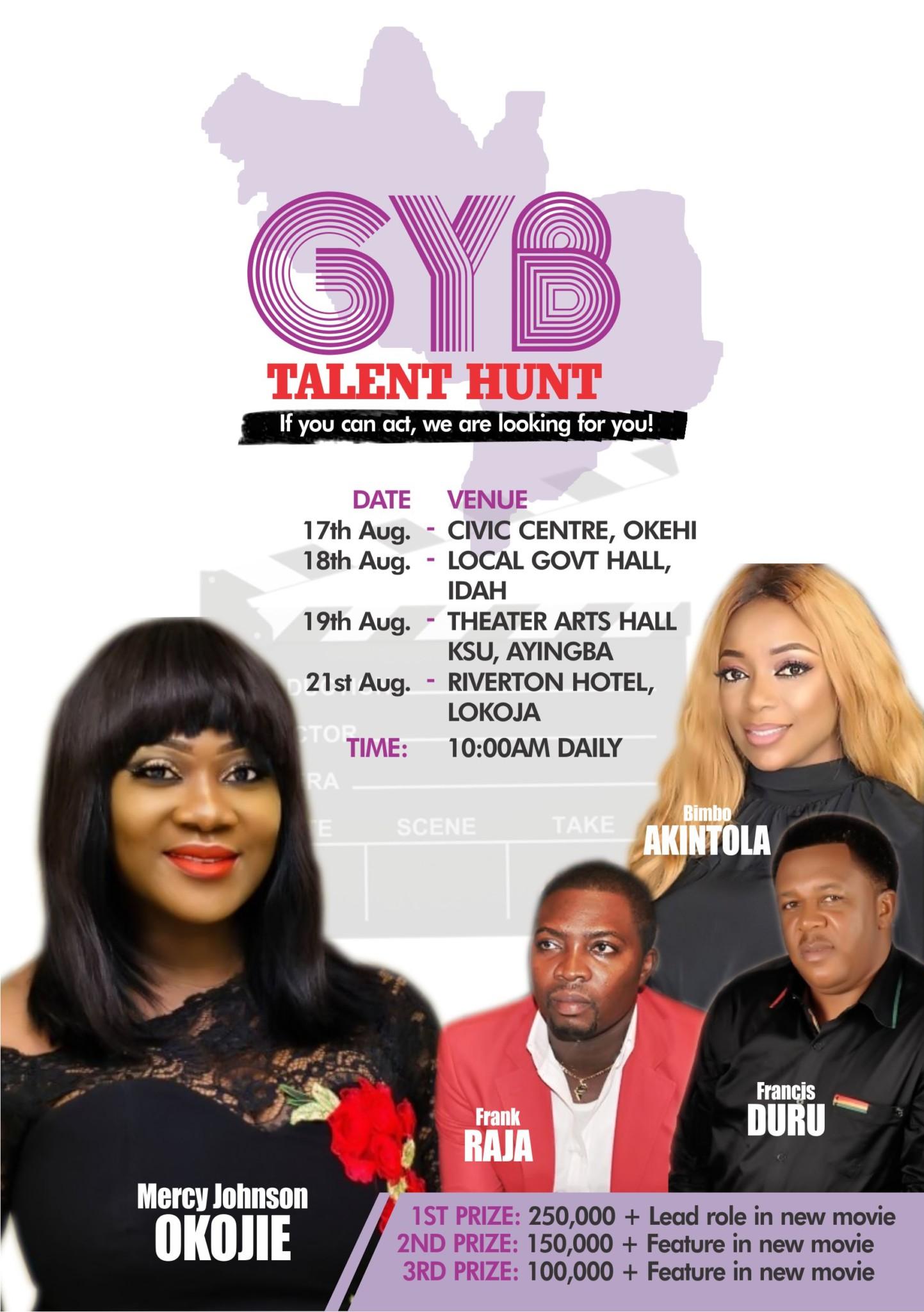 Mercy Johnson-Okojie GYB Talent Hunt