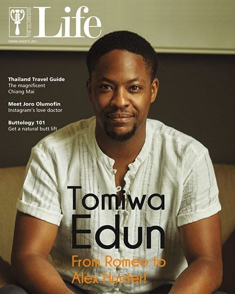 From Romeo to Alex Hunter! Tomiwa Edun covers Guardian Life Magazine's Latest Issue - BellaNaija
