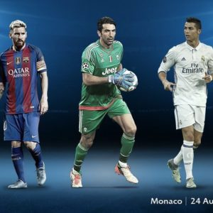 UEFA Men's Player of the Year: Buffon, Messi, Ronaldo make 2016/17 shortlist