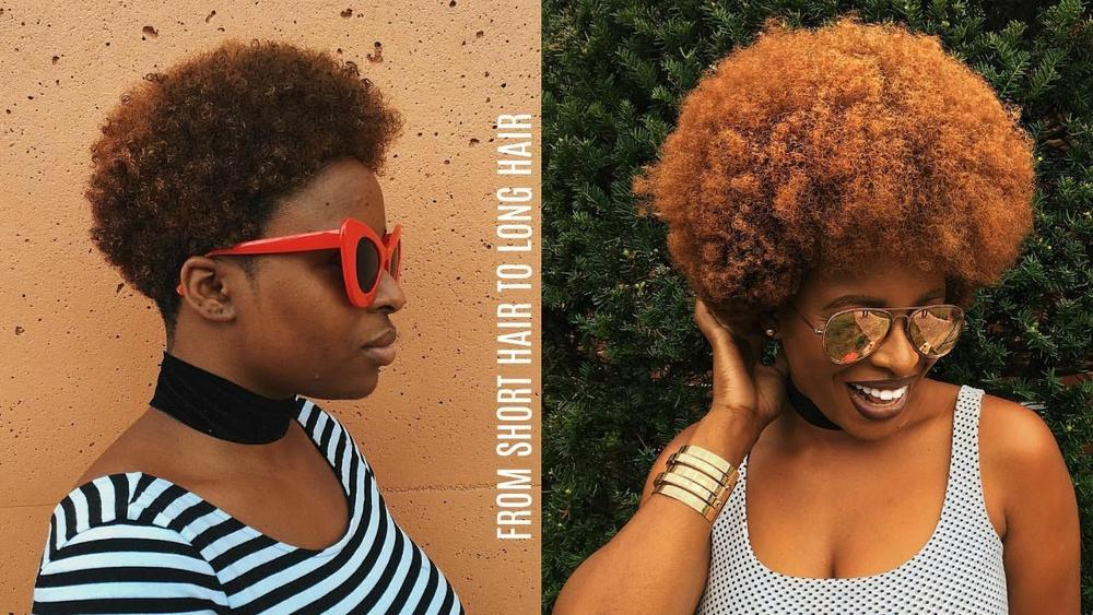 Watch Ronke Raji's 6-Year Hair Journey & How she Quickly achived 4C hair