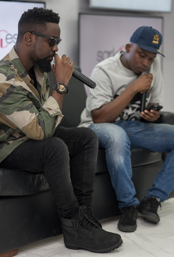 "BellaNaija - Sarkodie holds Exclusive Album Listening +Video Screening Session for ""Highest"" 
