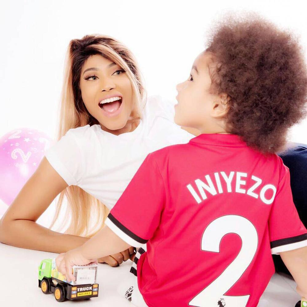 "BellaNaija - ""Thank you for standing by me..."" - Solidstar appreciates Girlfriend as Son celebrates Birthday today"
