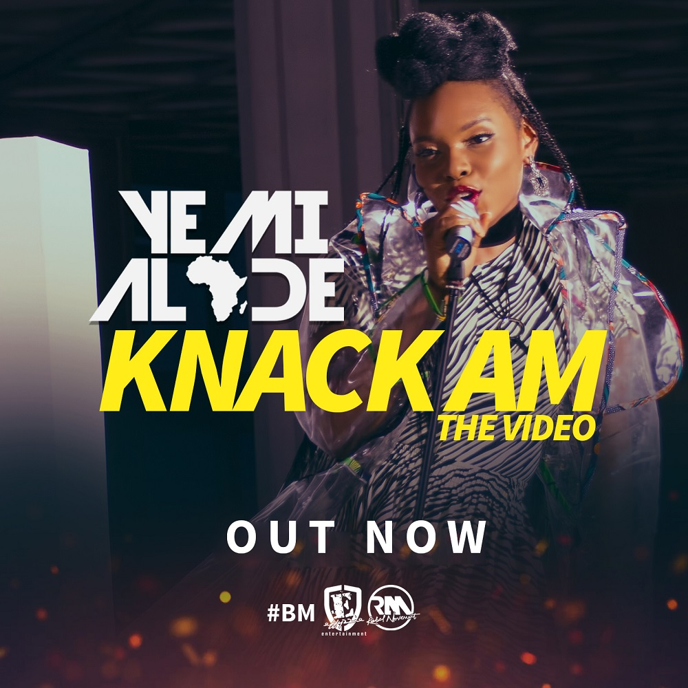 New Video: Yemi Alade – Knack Am