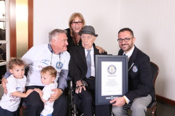 World's oldest man dies in Israel aged 113 years