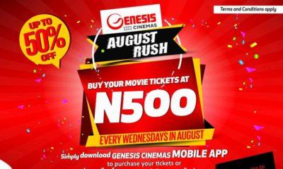 Genesis Cinema mobile app