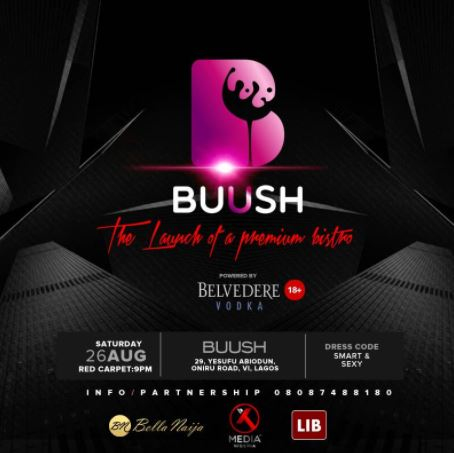 buush lounge launch