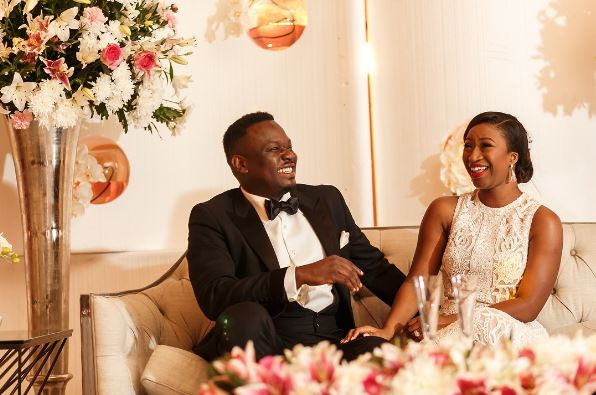 Dr Sid and Wife Simi celebrate 3 Years Wedding Anniversary - BellaNaija