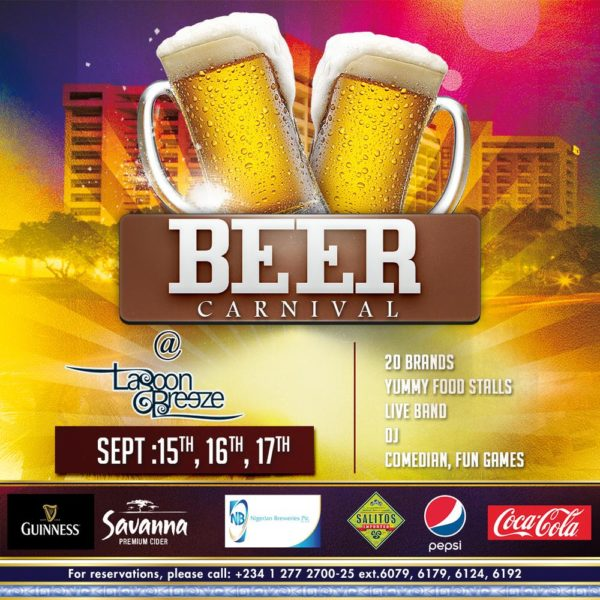 #BeerCarnival Eko Hotel and Suites