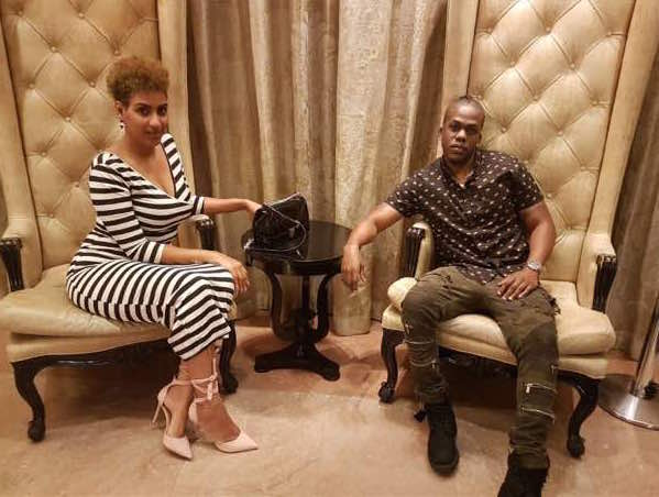 Exclusive: Lovebirds Iceberg Slim & Juliet Ibrahim get Matching Tattoos!