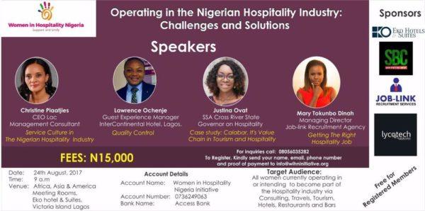 women in hospitality industry