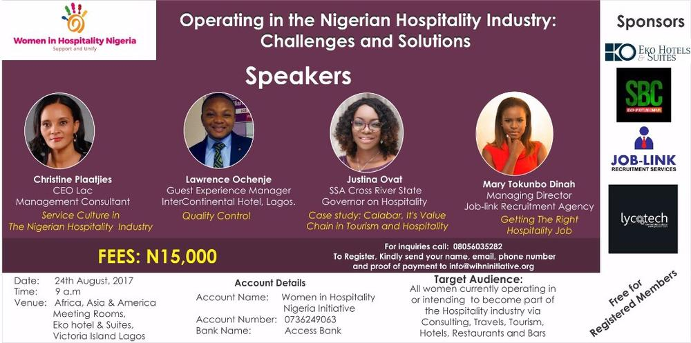 women in hospitality industry
