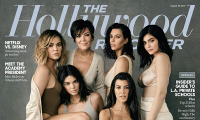 How a Sex Tape Let to a Billion-Dollar Brand: The Kardashian family cover The Hollywood Reporter