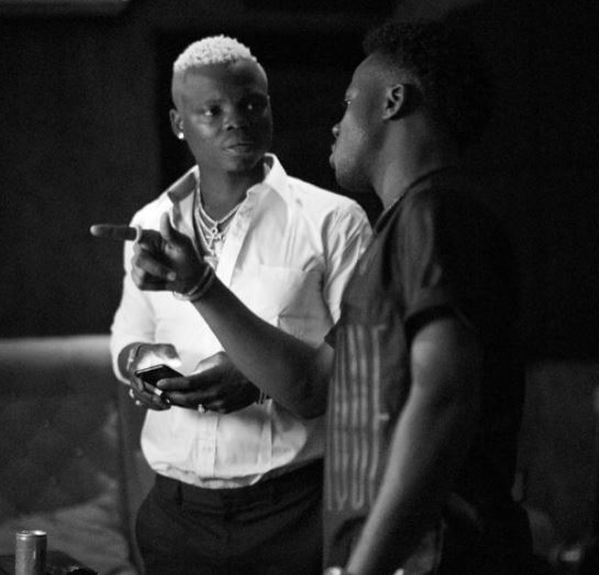 Tanzanian singer, Harmonize Spotted in the Studio with Korede Bello | Photos - BellaNaija