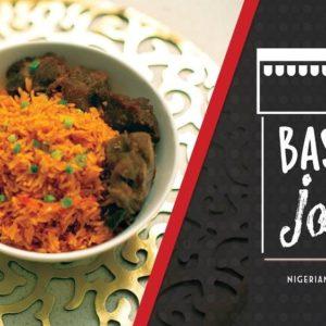 BN Cuisine: The Perfect Basmati Jollof Rice Recipe by Bukies Kitchen Muse