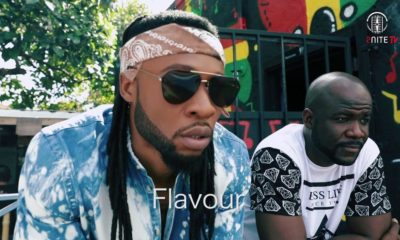 "BellaNaija - Go Behind The Scenes of Flavour's Music Video ""Baby Na Yoka"" 