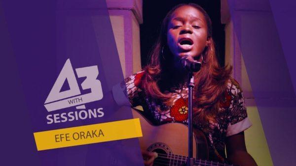BellaNaija - WATCH: Efe Oraka performs Ed Sheeran, Beyonce & Ben E. King mashup on A3 Session