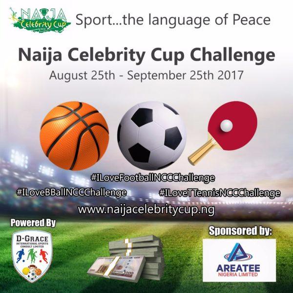 Naija Celebrity Cup Fan Challenge