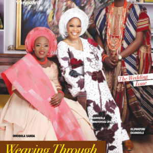 Bimmms 24, Mobalks & Ceomania Grace the cover of Vanguard Allure's Wedding Issue