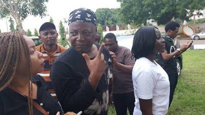 The Senate & the police are enemies of Nigerians - #ResumeOrResign Movement - BellaNaija