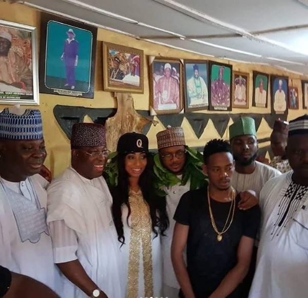 Quilox Boss Shina Peller conferred with Title in Iseyin - BellaNaija