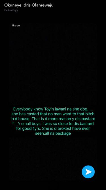 BellaNaija - Of riff-raffs and revelations... Peep this Bobrisky and Toyin Lawani exchange on Social Media ?