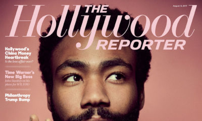 BellaNaija - Donald Glover covers August Edition of The Hollywood Reporter