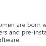 Women aren't born with pre-installed motherhood software - TwitterNG User shares views on Child Care - BellaNaija