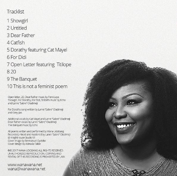Wana Udobang announces release of new Poetry Album - BellaNaija