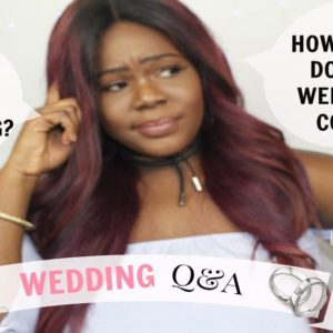 """How Much does a Wedding Cost?"" Watch Wura Manola's New Vlog on Wedding FAQs"