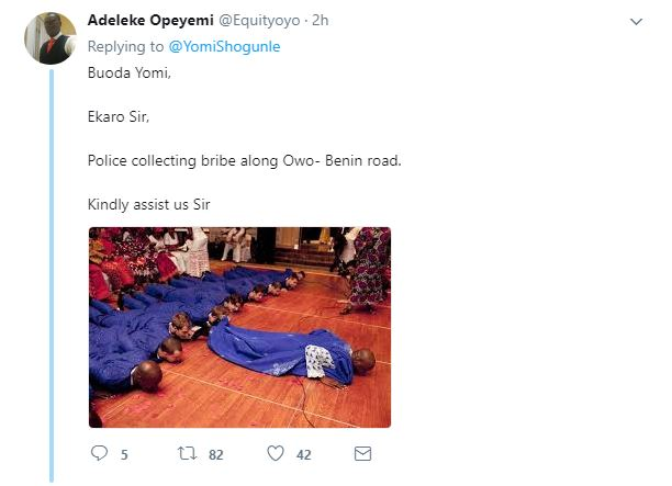 BellaNaija - A Case of Respect? This ACP Yomi Shogunle's Tweet is trending on Twitter