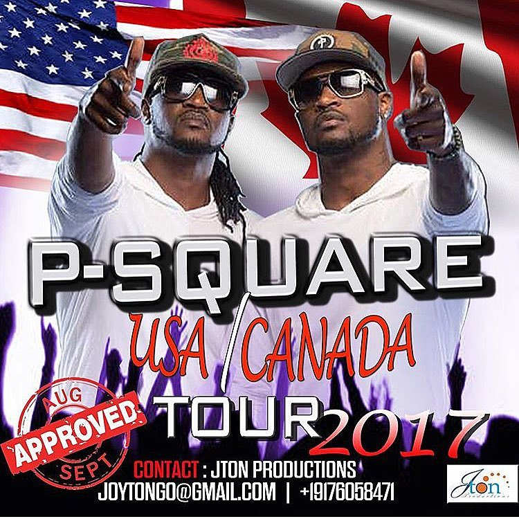 "BellaNaija - P-Square tour of America/Canada ""not happening"" - Rudeboy (Paul P-Sqaure)"