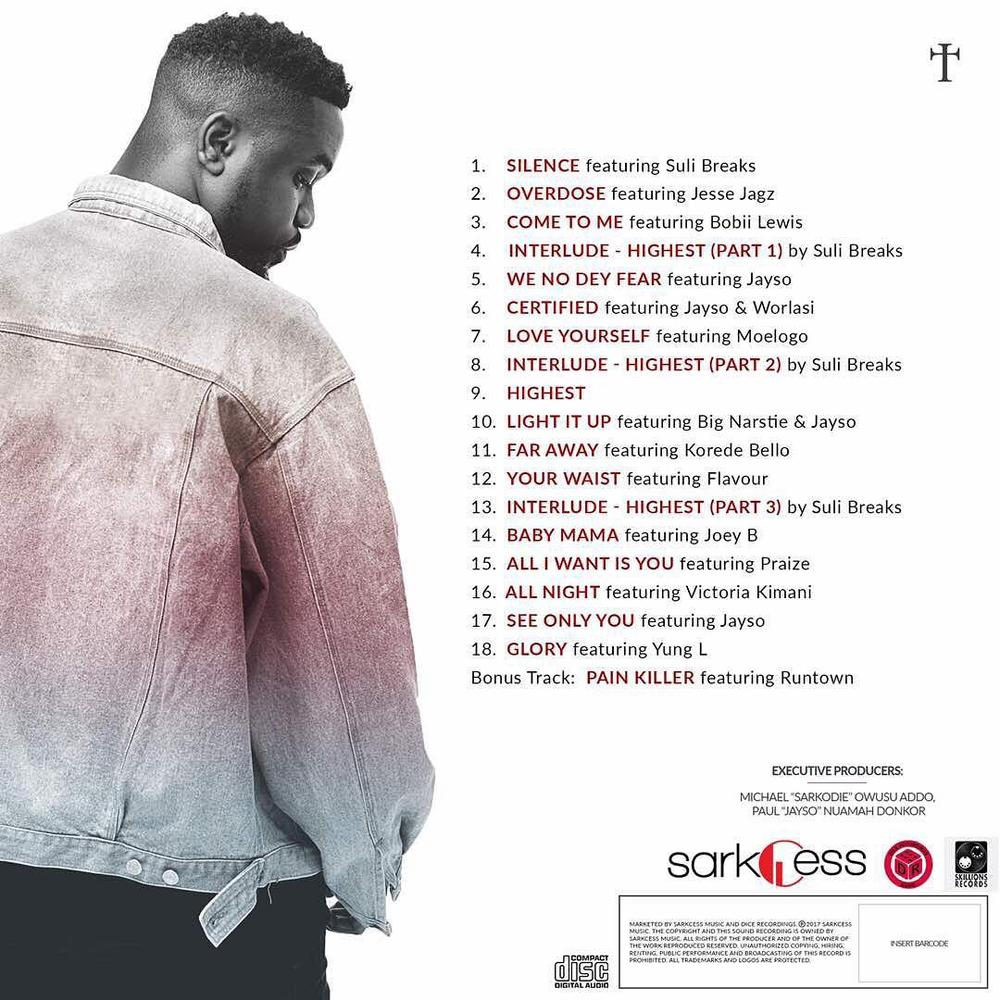 BellaNaija - Highest! Sarkodie finally drops New Album... with 6 Music Videos!